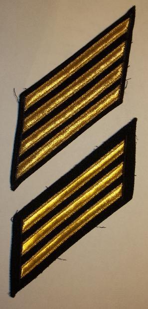 old U. S. Navy Hashmarks - image